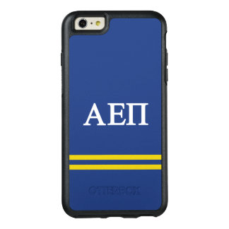 Alpha Epsilon Pi   Sport Stripe OtterBox iPhone 6/6s Plus Case
