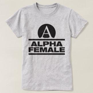 Alpha Female Fitness Gym Bodybuilding Slogan Tee