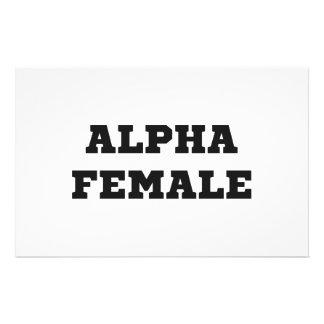 Alpha Female Stationery