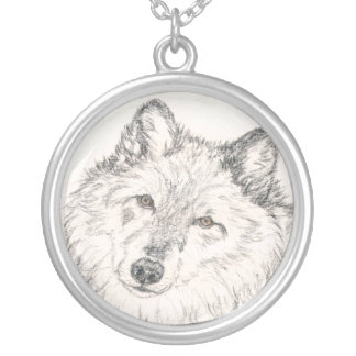 Alpha Female Wolf Necklace