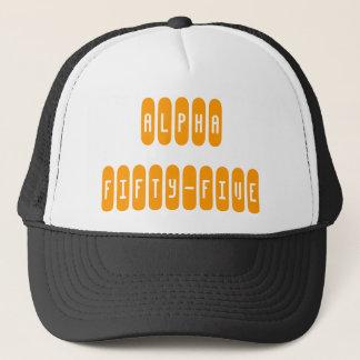 ALPHA FIFTY-FIVE TRUCKER HAT