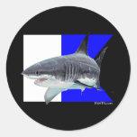 Alpha Flag Divers Collection Sticker