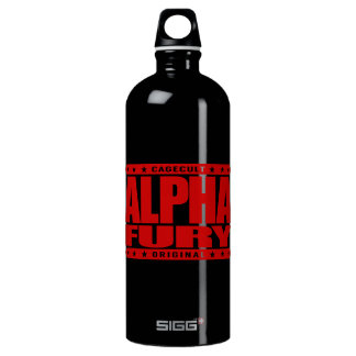 ALPHA FURY - Harness the Forces of Nature, Red SIGG Traveler 1.0L Water Bottle