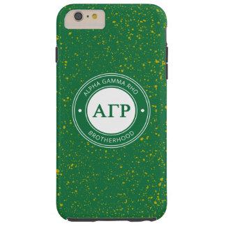 Alpha Gamma Rho   Badge Tough iPhone 6 Plus Case