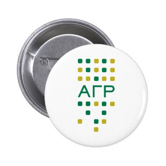 Alpha Gamma Rho - Letters Vertical Pinback Button