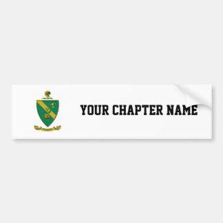 Alpha Gamma Rho Official Coat of Arms Bumper Sticker