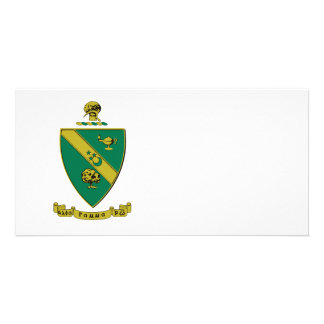 Alpha Gamma Rho Official Coat of Arms Picture Card