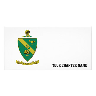 Alpha Gamma Rho Official Coat of Arms Photo Greeting Card