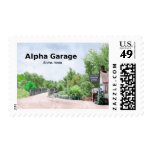 Alpha Garage Commemorative Stamp