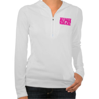 ALPHA GEEK - I Mind Control Your Universe, Pink Hooded Pullovers