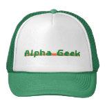 Alpha Geek Trucker Hats