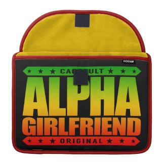 ALPHA GIRLFRIEND - I Wear The Skinny Jeans, Rasta MacBook Pro Sleeve