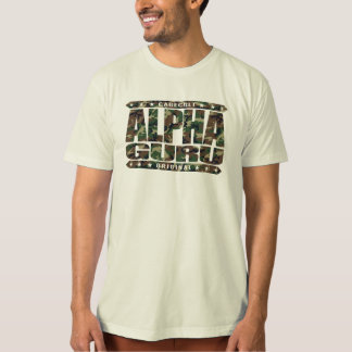 ALPHA GURU - I Lead With Powerful Mastery, Camo T-Shirt