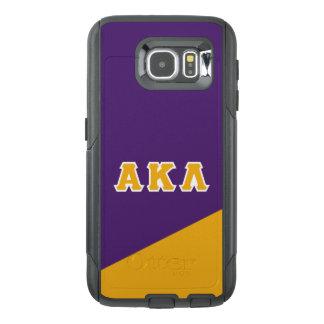 Alpha Kappa Lambda | Greek Letters OtterBox Samsung Galaxy S6 Case