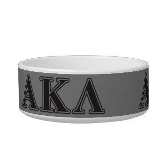 Alpha Kappa Lambda Purple Letters Bowl