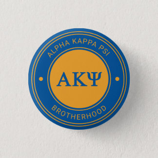 Alpha Kappa Psi | Badge Button