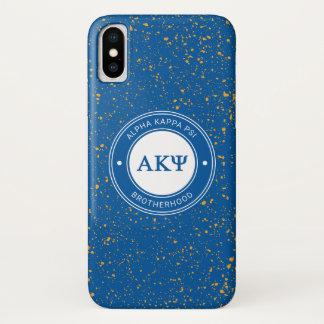 Alpha Kappa Psi   Badge iPhone X Case