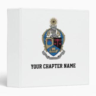 Alpha Kappa Psi - Coat of Arms Vinyl Binders
