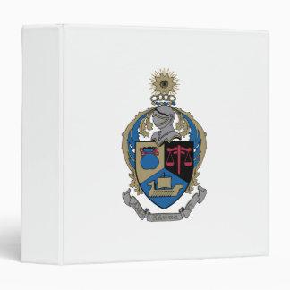 Alpha Kappa Psi - Coat of Arms Vinyl Binder