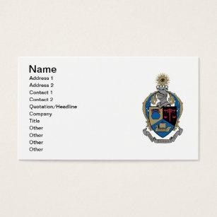Alpha kappa alpha business cards templates zazzle alpha kappa psi coat of arms business card colourmoves