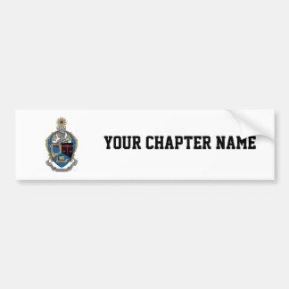 Alpha Kappa Psi - Coat of Arms Car Bumper Sticker