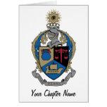 Alpha Kappa Psi - Coat of Arms Cards