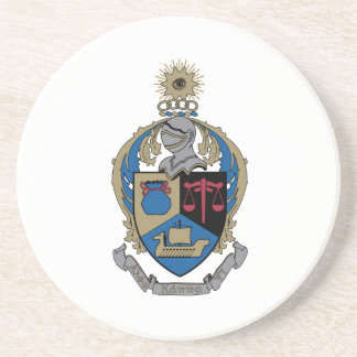 Alpha Kappa Psi - Coat of Arms Drink Coasters