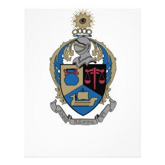 Alpha Kappa Psi - Coat of Arms Custom Flyer