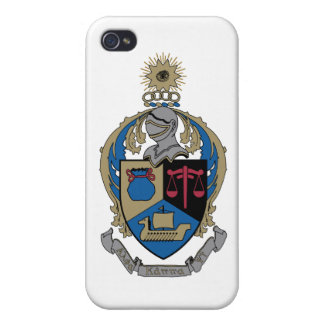 Alpha Kappa Psi - Coat of Arms Covers For iPhone 4