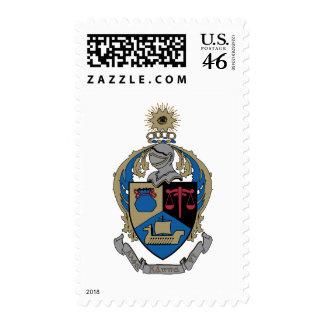Alpha Kappa Psi - Coat of Arms Postage Stamps