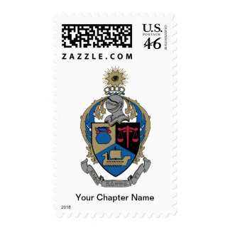 Alpha Kappa Psi - Coat of Arms Stamps