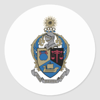 Alpha Kappa Psi - Coat of Arms Sticker