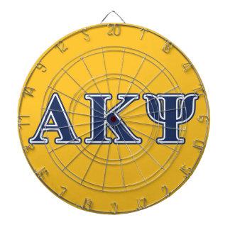 Alpha Kappa Psi Navy Letters Dartboards
