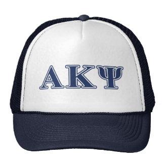 Alpha Kappa Psi Navy Letters Hat