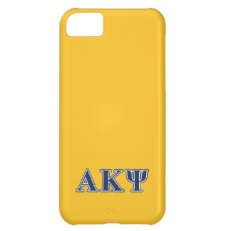 Alpha Kappa Psi Navy Letters iPhone 5C Covers