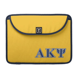 Alpha Kappa Psi Navy Letters Sleeve For MacBook Pro