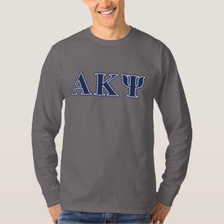 Alpha Kappa Psi Navy Letters T-Shirt