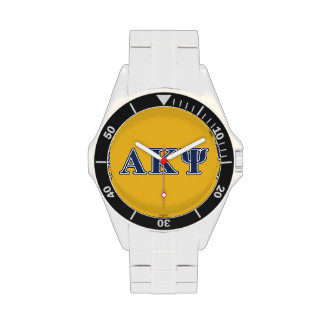 Alpha Kappa Psi Navy Letters Watch