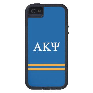 Alpha Kappa Psi | Sport Stripe Case For iPhone SE/5/5s