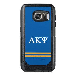 Alpha Kappa Psi | Sport Stripe OtterBox Samsung Galaxy S7 Case