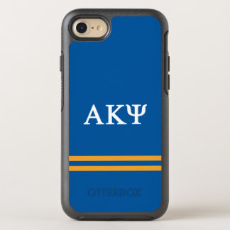 Alpha Kappa Psi | Sport Stripe OtterBox Symmetry iPhone 8/7 Case