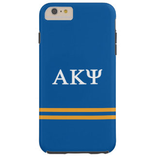 Alpha Kappa Psi | Sport Stripe Tough iPhone 6 Plus Case