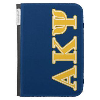 Alpha Kappa Psi Yellow Letters Kindle Keyboard Covers