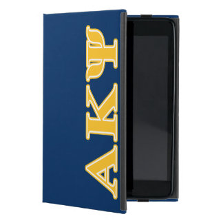 Alpha Kappa Psi Yellow Letters Cases For iPad Mini