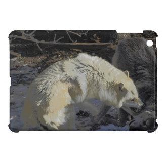 Alpha Male Battling Wolves Wild Animals iPad Mini Cover