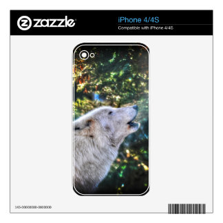 Alpha Male Grey Wolf Wildlife Photo iPhone 4S Skins