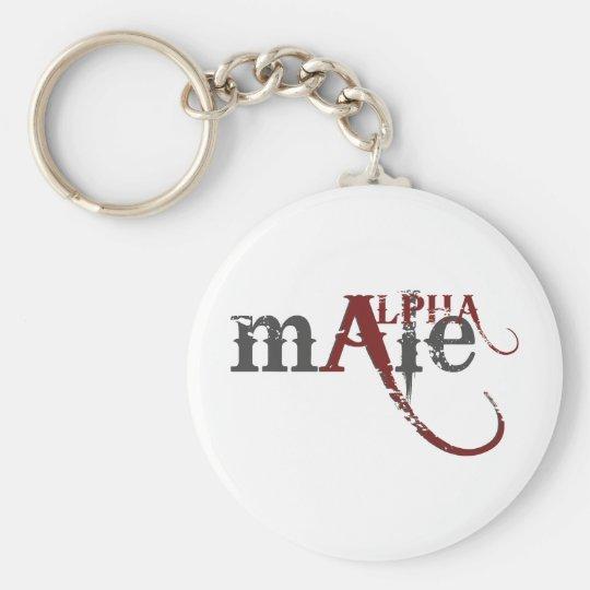 Alpha Male Keychain