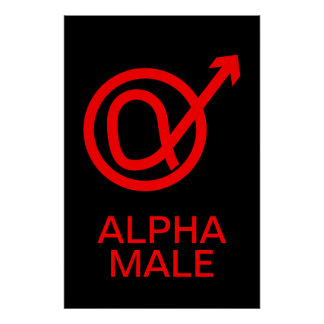 Alpha Male Sign