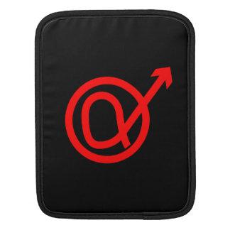Alpha Male Sign iPad Sleeves