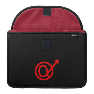 Alpha Male Sign MacBook Pro Sleeve